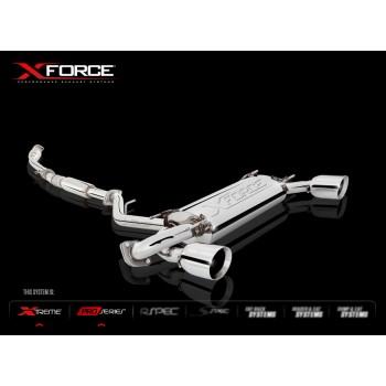X-Force Cat back  BRZ GT86